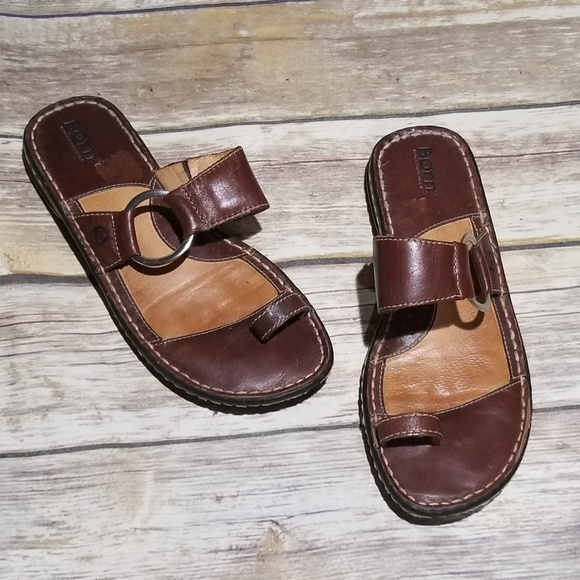 a21ea30d75ba Born Shoes - Born Captiva Leather Sandal size 8